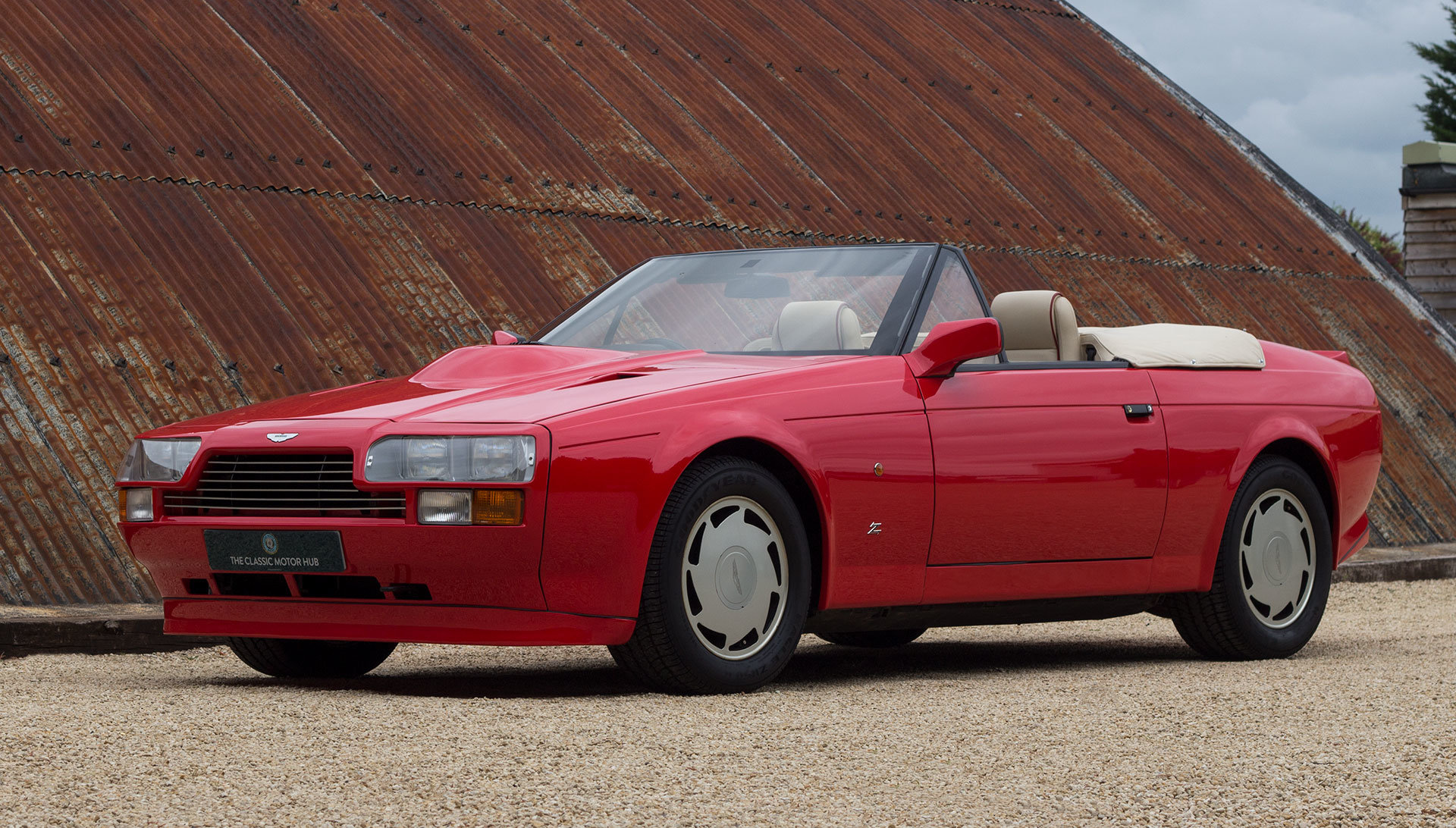 1989 Aston Martin V8 Vantage Volante Zagato 6.3 Litre For Sale (picture 1 of 24)