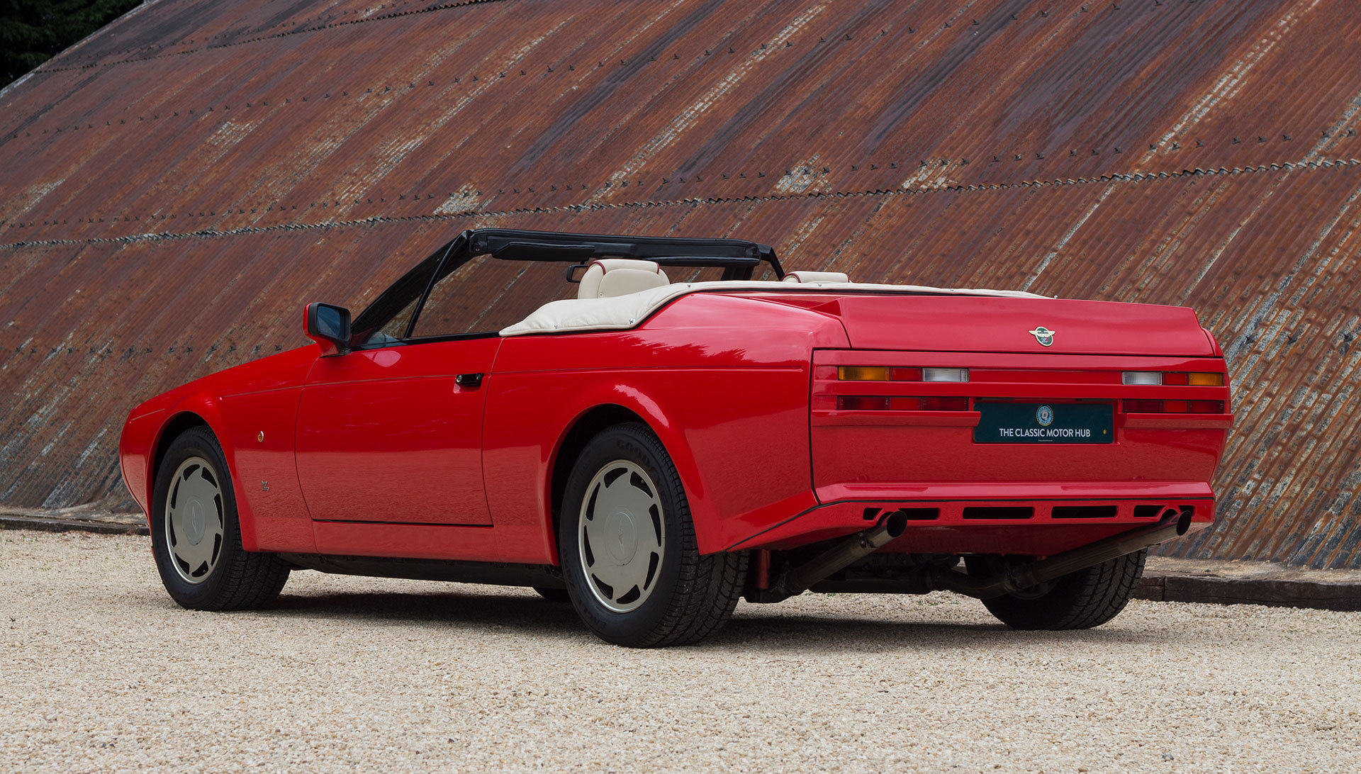 1989 Aston Martin V8 Vantage Volante Zagato 6.3 Litre For Sale (picture 3 of 24)