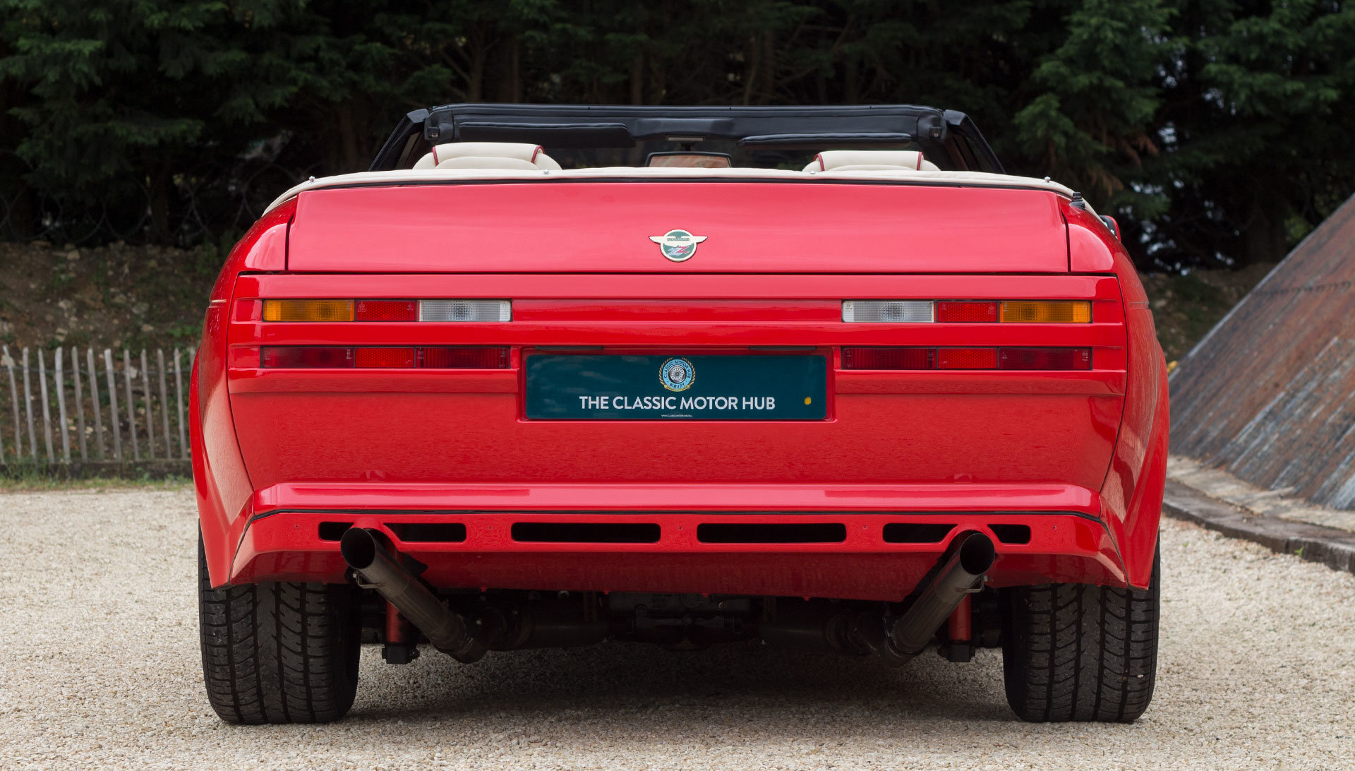 1989 Aston Martin V8 Vantage Volante Zagato 6.3 Litre For Sale (picture 4 of 24)