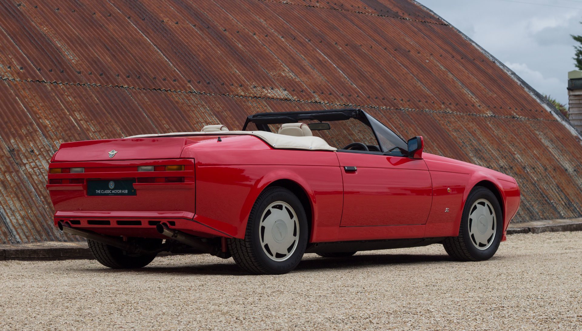 1989 Aston Martin V8 Vantage Volante Zagato 6.3 Litre For Sale (picture 8 of 24)