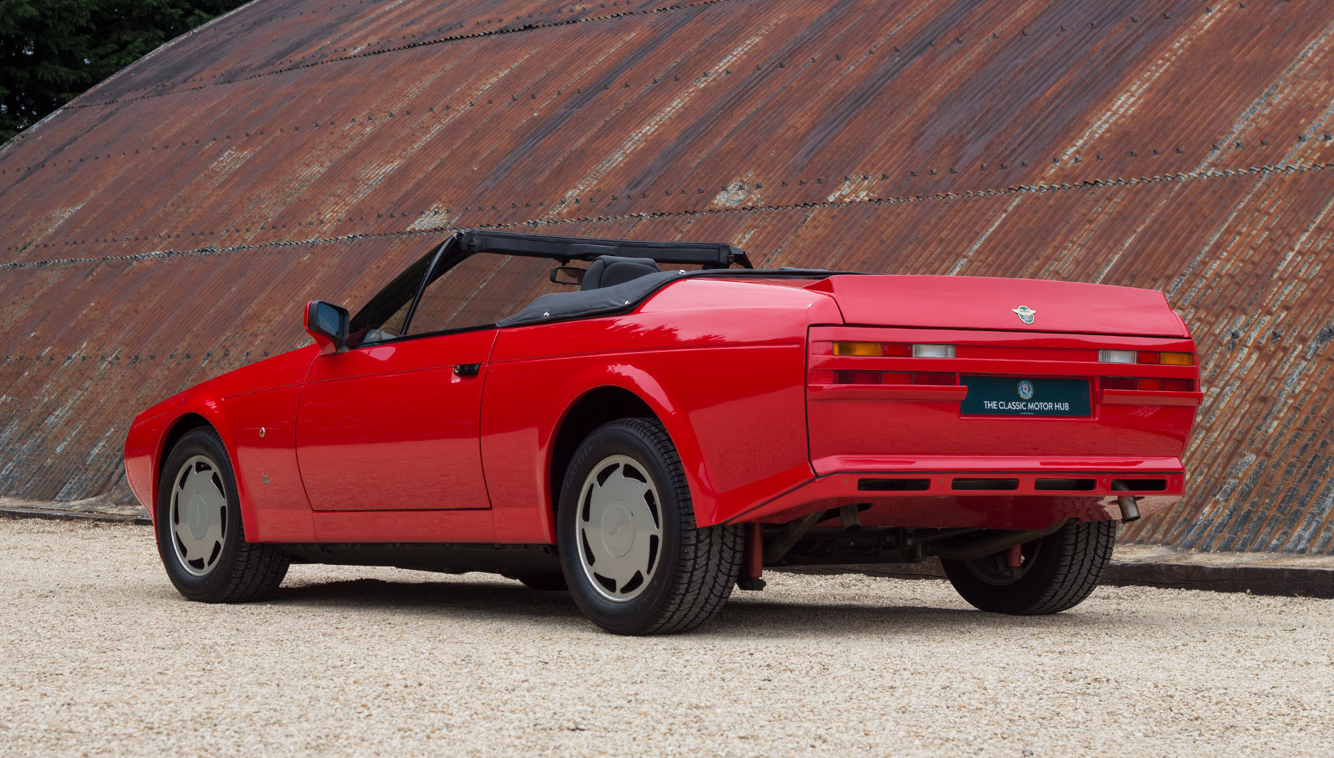 1989 Aston Martin V8 Vantage Volante Zagato - Unregistered For Sale (picture 3 of 24)