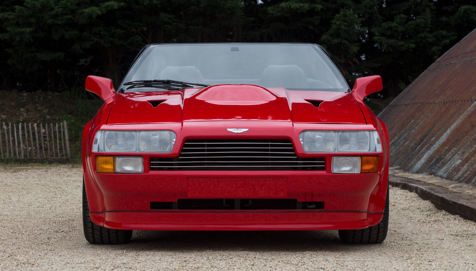 1989 Aston Martin V8 Vantage Volante Zagato - Unregistered For Sale (picture 5 of 24)