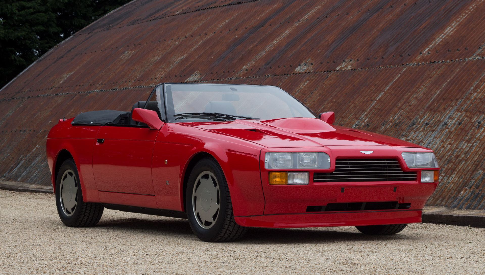 1989 Aston Martin V8 Vantage Volante Zagato - Unregistered For Sale (picture 6 of 24)