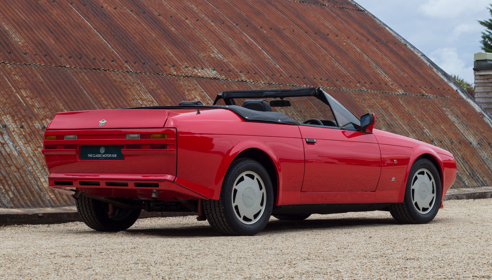 1989 Aston Martin V8 Vantage Volante Zagato - Unregistered For Sale (picture 8 of 24)
