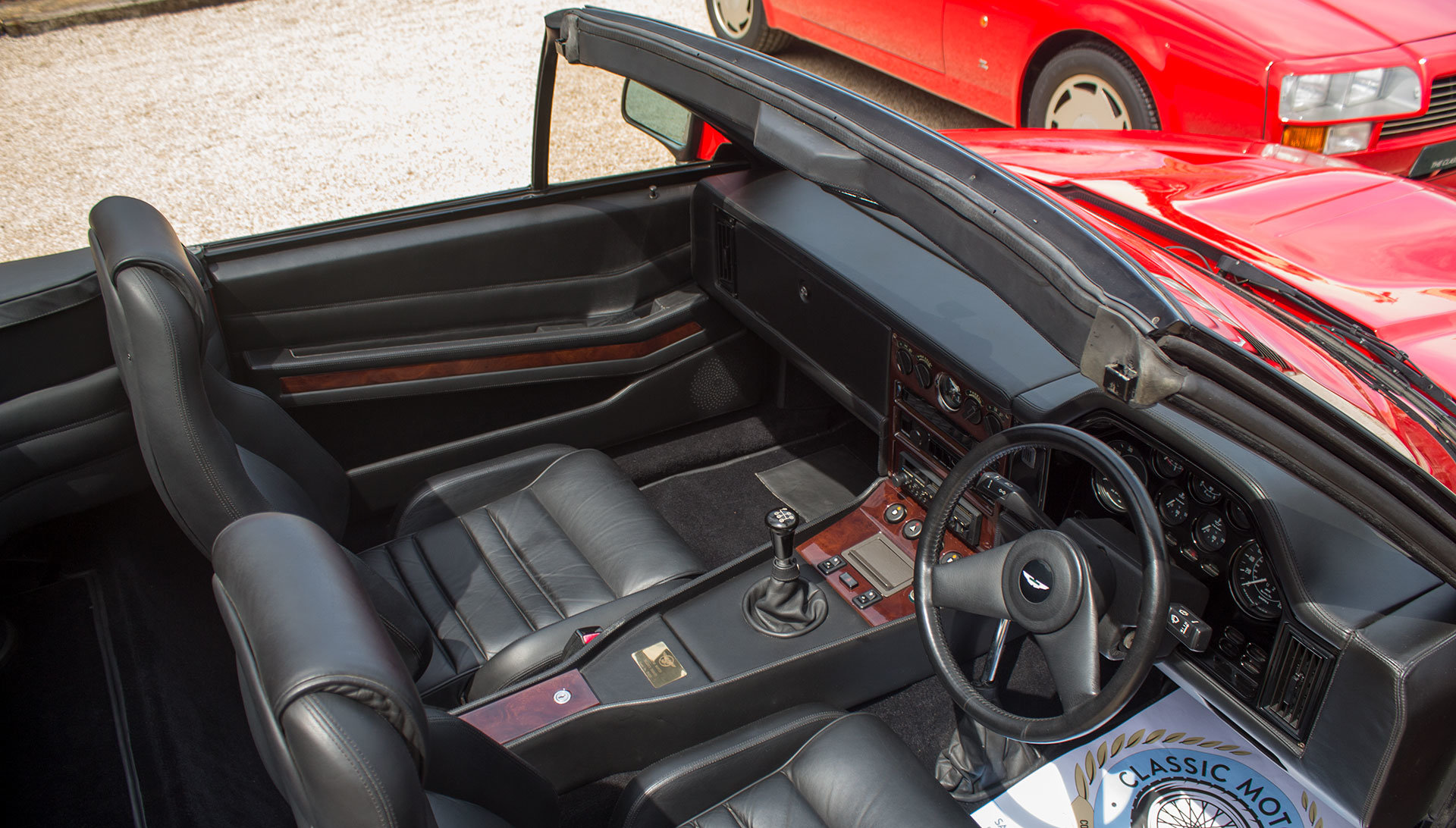 1989 Aston Martin V8 Vantage Volante Zagato - Unregistered For Sale (picture 14 of 24)