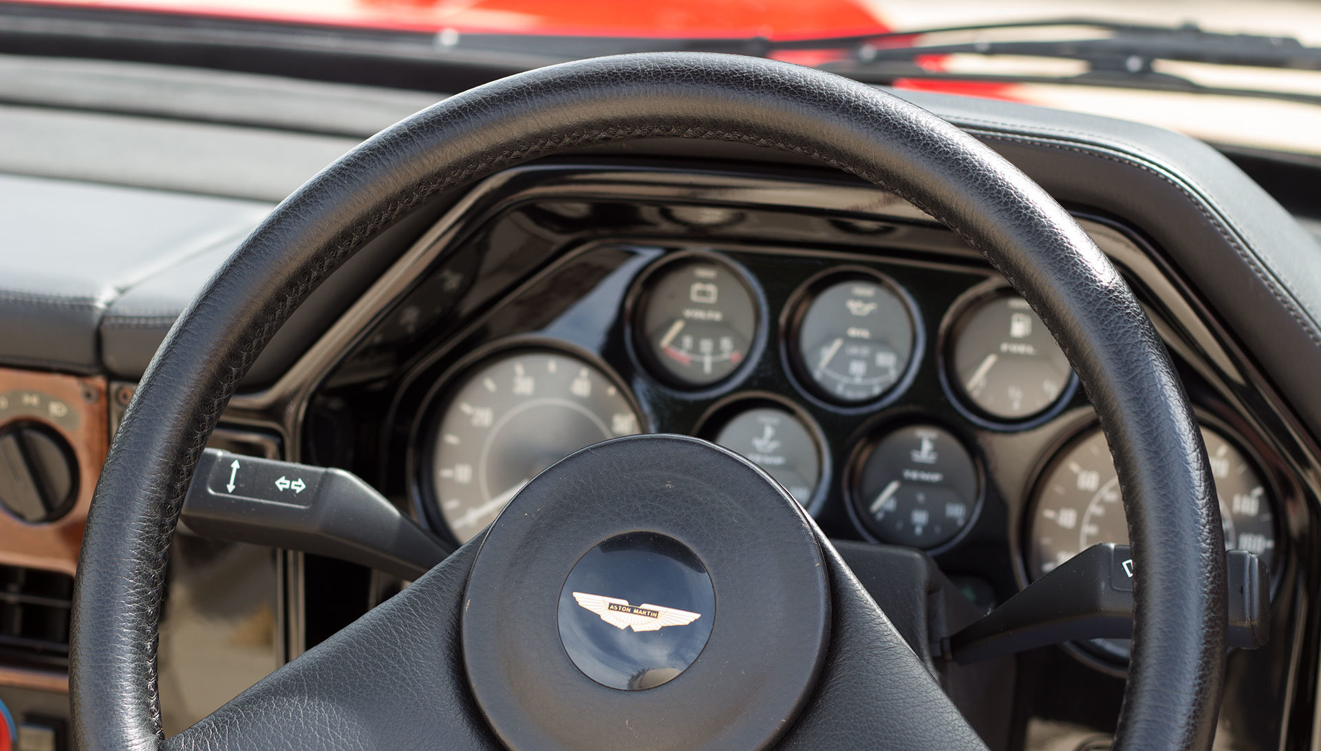 1989 Aston Martin V8 Vantage Volante Zagato - Unregistered For Sale (picture 17 of 24)