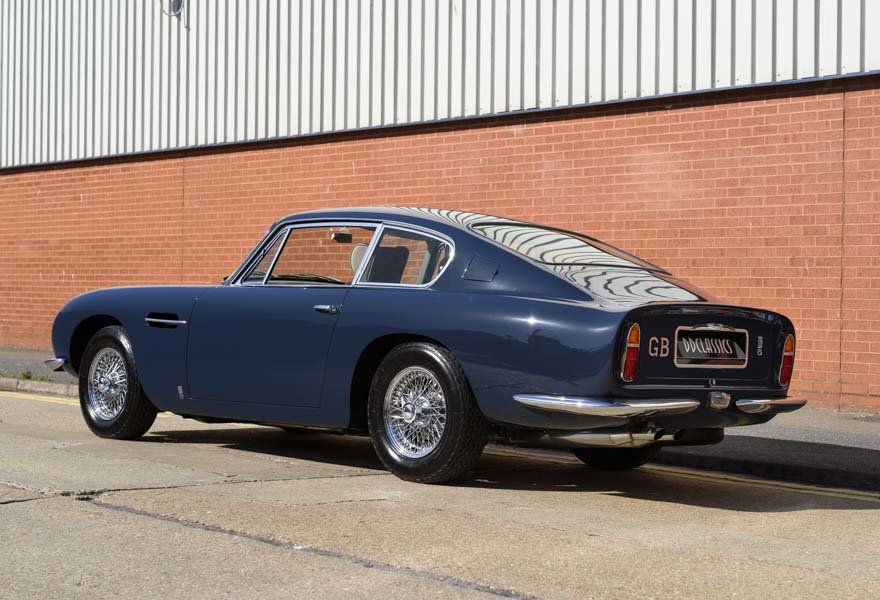 1967 Aston Martin DB6 Series I (RHD) For Sale (picture 4 of 24)