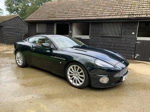 Aston Martin V12 Vanquish 2002