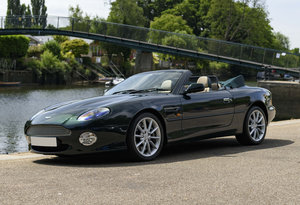 2004  Aston Martin DB7 V12 Vantage Volante (RHD)