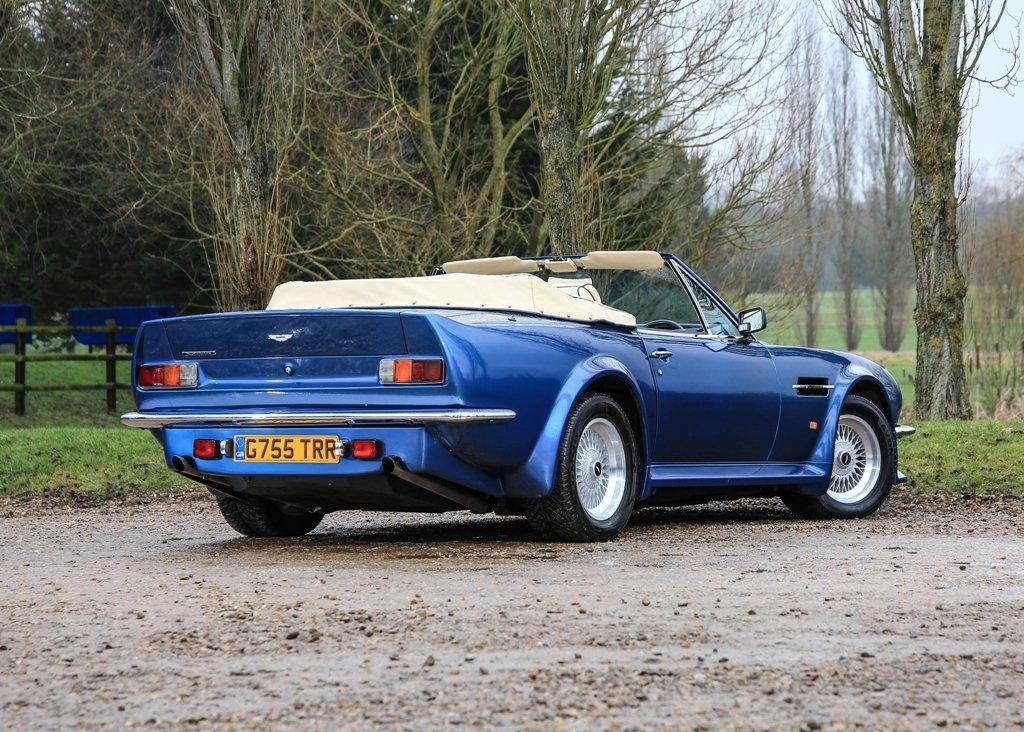 1989 Aston Martin V8 Vantage Volante X-Pack Convertible SOLD by Auction (picture 2 of 6)