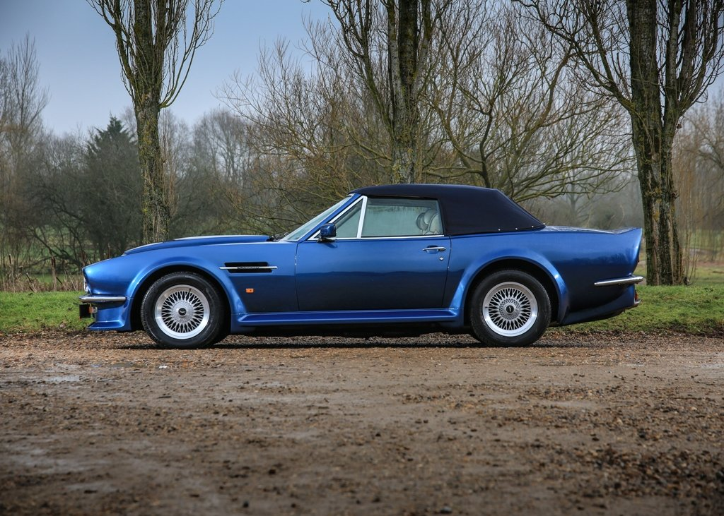 1989 Aston Martin V8 Vantage Volante X-Pack Convertible SOLD by Auction (picture 3 of 6)
