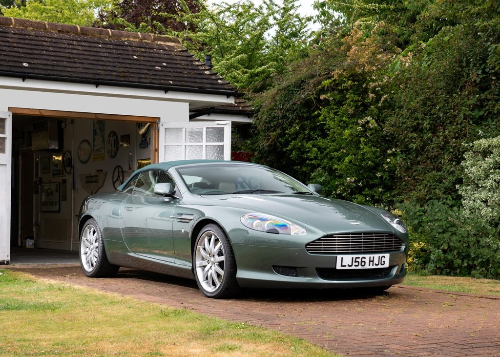 2006 Aston Martin DB9 Volante SOLD by Auction (picture 1 of 6)
