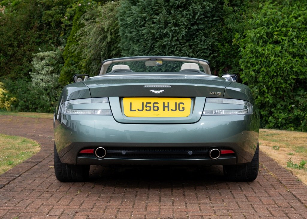 2006 Aston Martin DB9 Volante SOLD by Auction (picture 5 of 6)