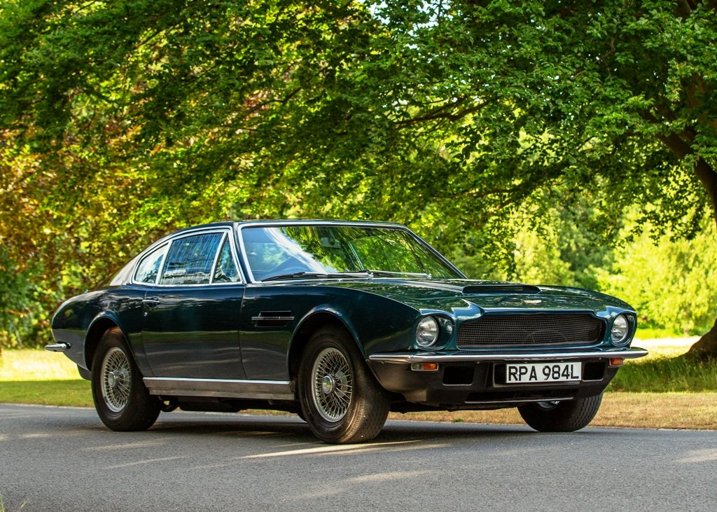 1973 Aston Martin Vantage SOLD by Auction (picture 1 of 6)