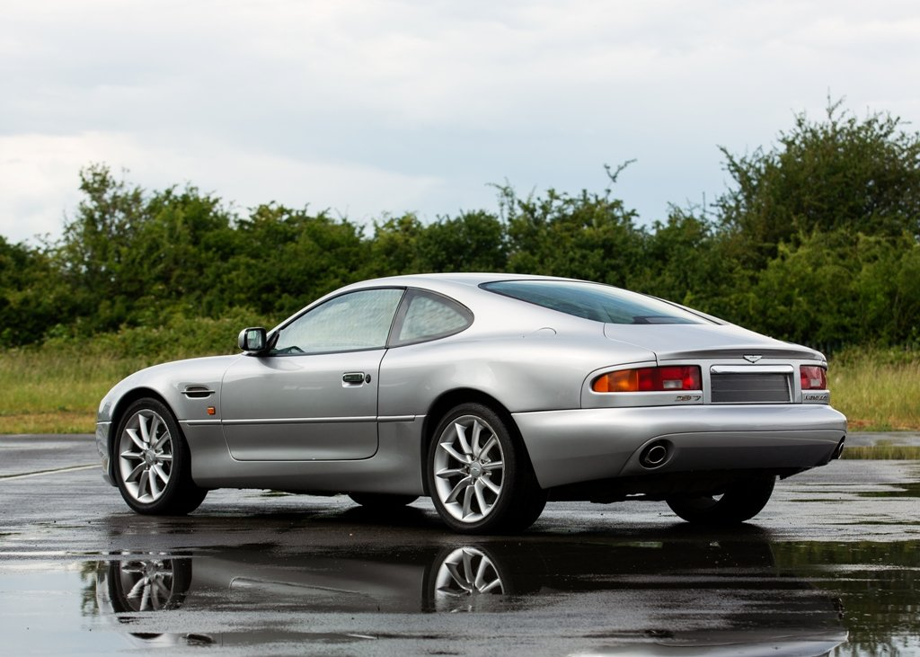 2000 Aston Martin DB7 Vantage SOLD by Auction (picture 3 of 6)