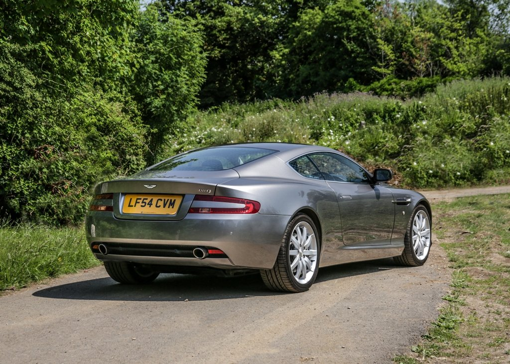 2005 Aston Martin DB9 Coup SOLD by Auction (picture 2 of 6)