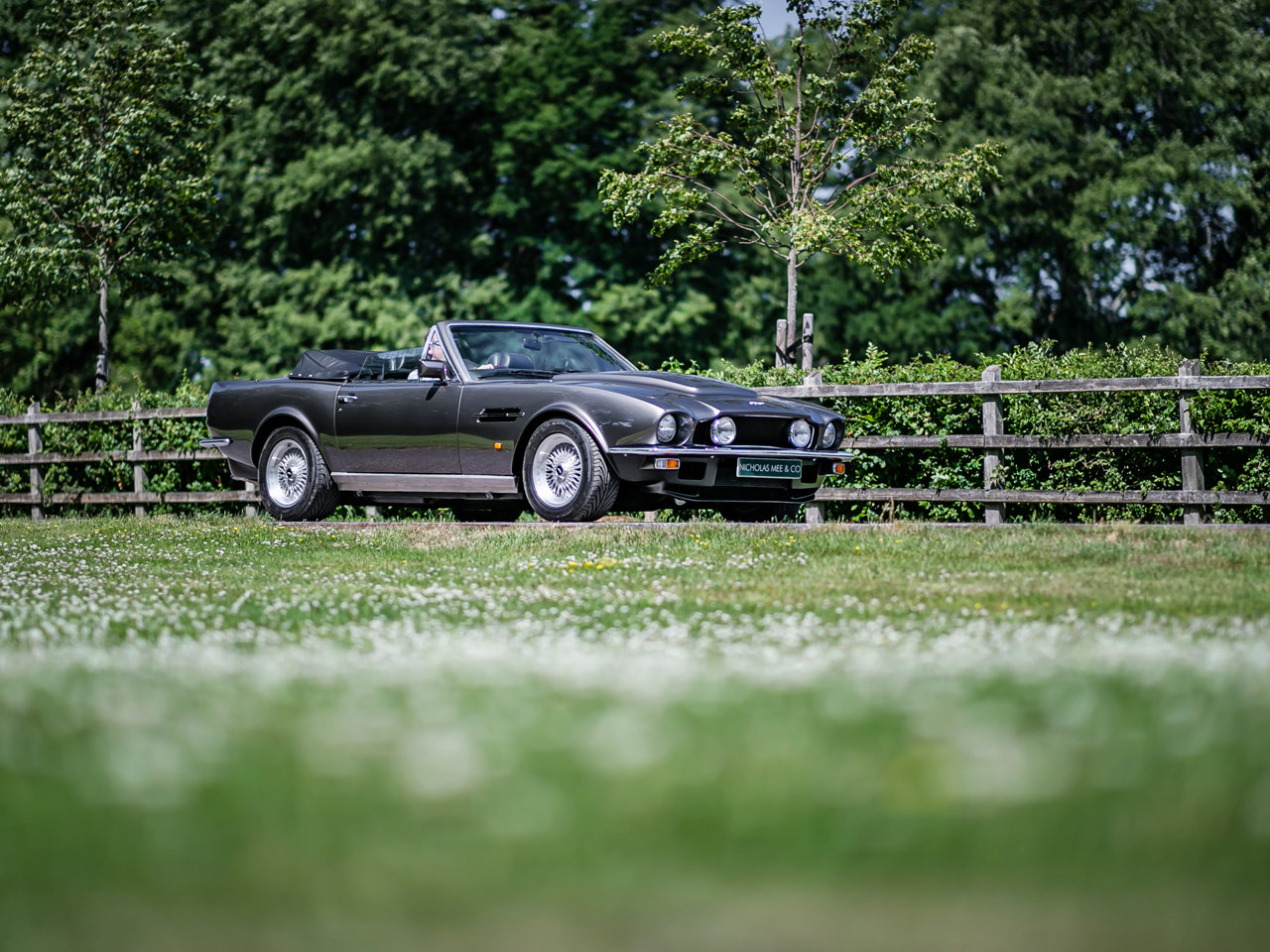 1989 Aston Martin V8 Vantage Volante PoW Adapted For Sale (picture 2 of 6)