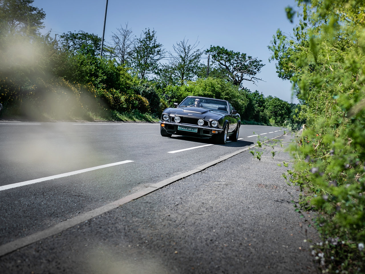 1989 Aston Martin V8 Vantage Volante PoW Adapted For Sale (picture 3 of 6)