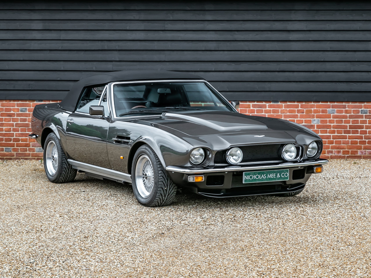 1989 Aston Martin V8 Vantage Volante PoW Adapted For Sale (picture 4 of 6)