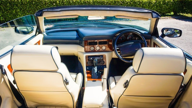 1995 ASTON MARTIN WIDE BODIED VIRAGE 5.3 V8 VOLANTE For Sale (picture 1 of 6)