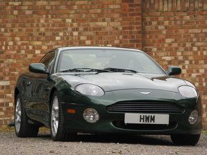 2001 - ASTON MARTIN DB7 VANTAGE - SIX SPEED MANUAL - LHD    For Sale