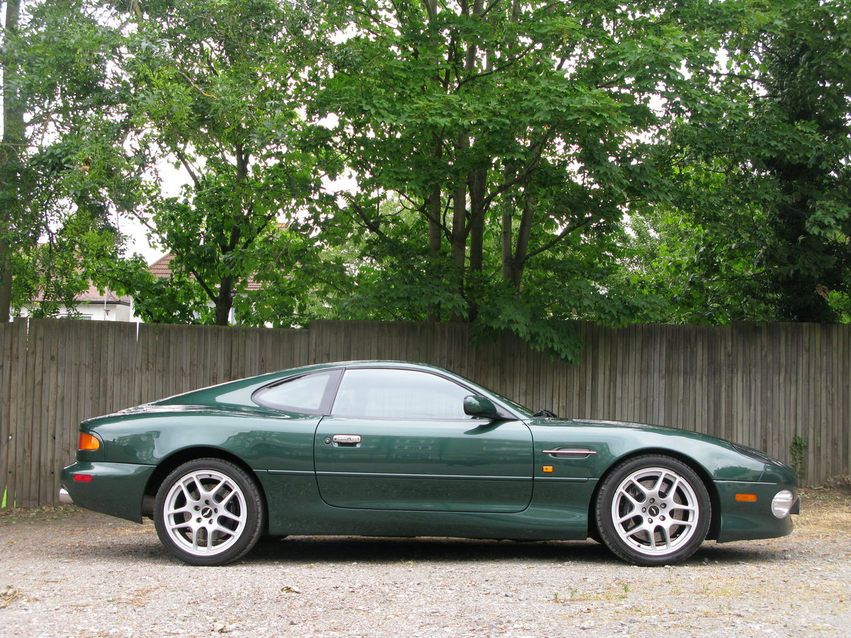2001 - ASTON MARTIN DB7 VANTAGE - SIX SPEED MANUAL - LHD    For Sale (picture 3 of 6)