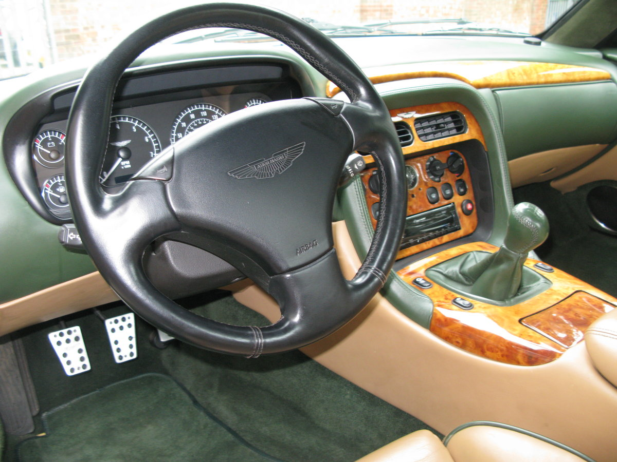 2001 - ASTON MARTIN DB7 VANTAGE - SIX SPEED MANUAL - LHD    For Sale (picture 4 of 6)