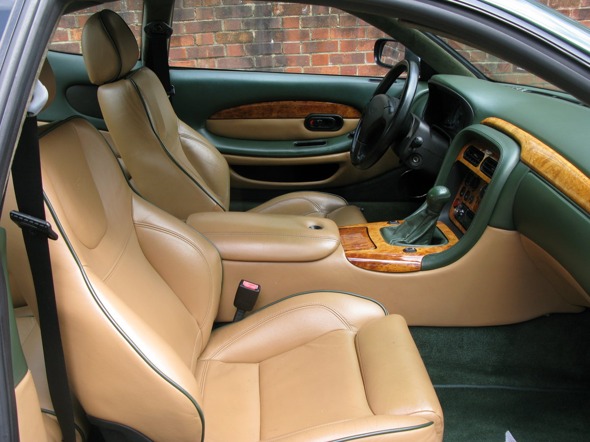 2001 - ASTON MARTIN DB7 VANTAGE - SIX SPEED MANUAL - LHD    For Sale (picture 5 of 6)