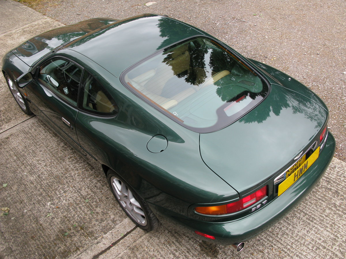 2001 - ASTON MARTIN DB7 VANTAGE - SIX SPEED MANUAL - LHD    For Sale (picture 2 of 6)