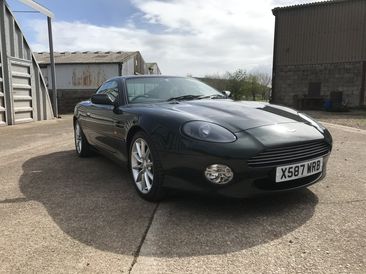 2000 Aston Martin DB7 V12 Vantage auto - low miles SOLD (picture 4 of 6)