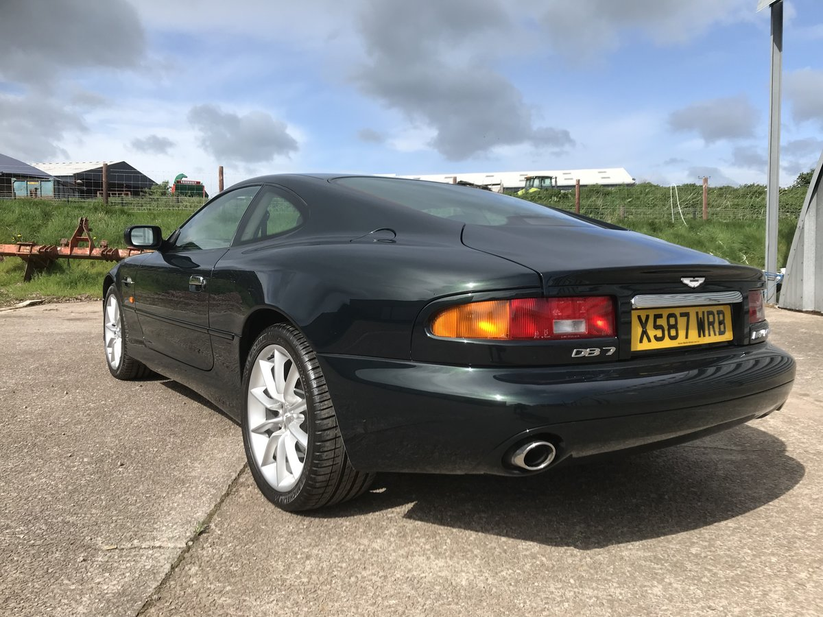2000 Aston Martin DB7 V12 Vantage auto - low miles SOLD (picture 5 of 6)