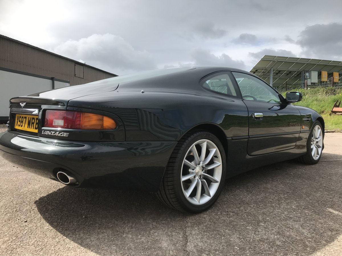 2000 Aston Martin DB7 V12 Vantage auto - low miles SOLD (picture 6 of 6)