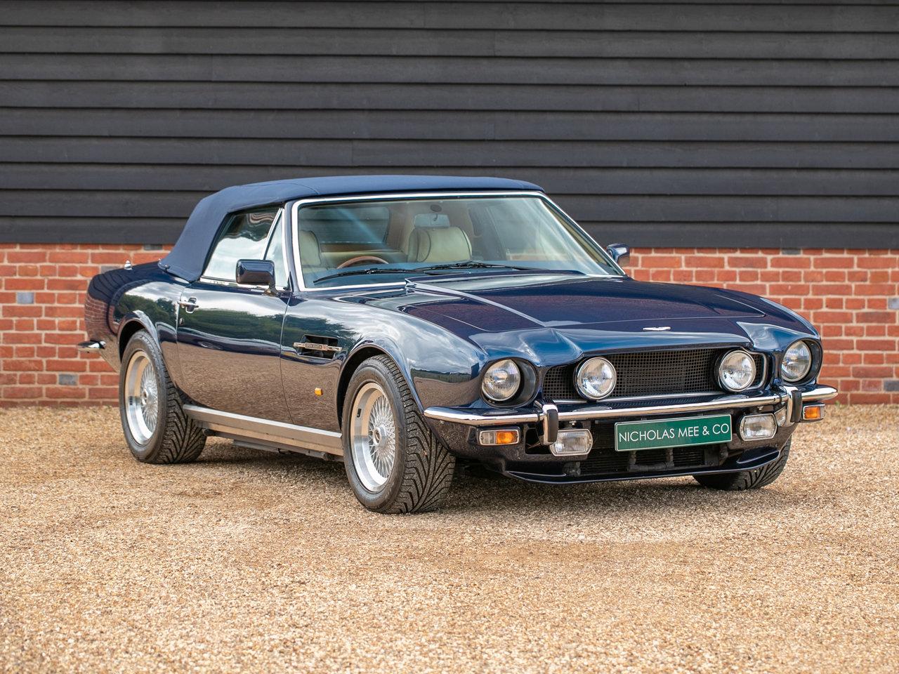 1987 Aston Martin V8 Volante EFi For Sale (picture 1 of 6)