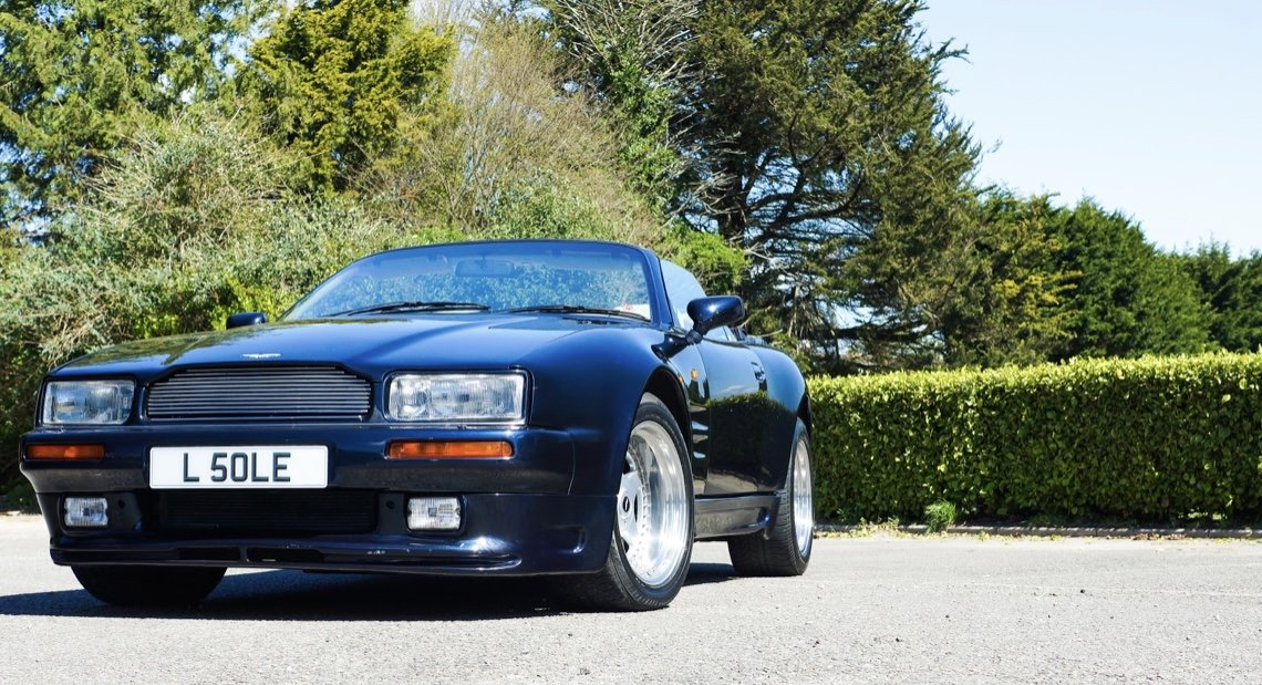 1995 ASTON MARTIN WIDE BODIED VIRAGE 5.3 V8 VOLANTE For Sale (picture 5 of 6)