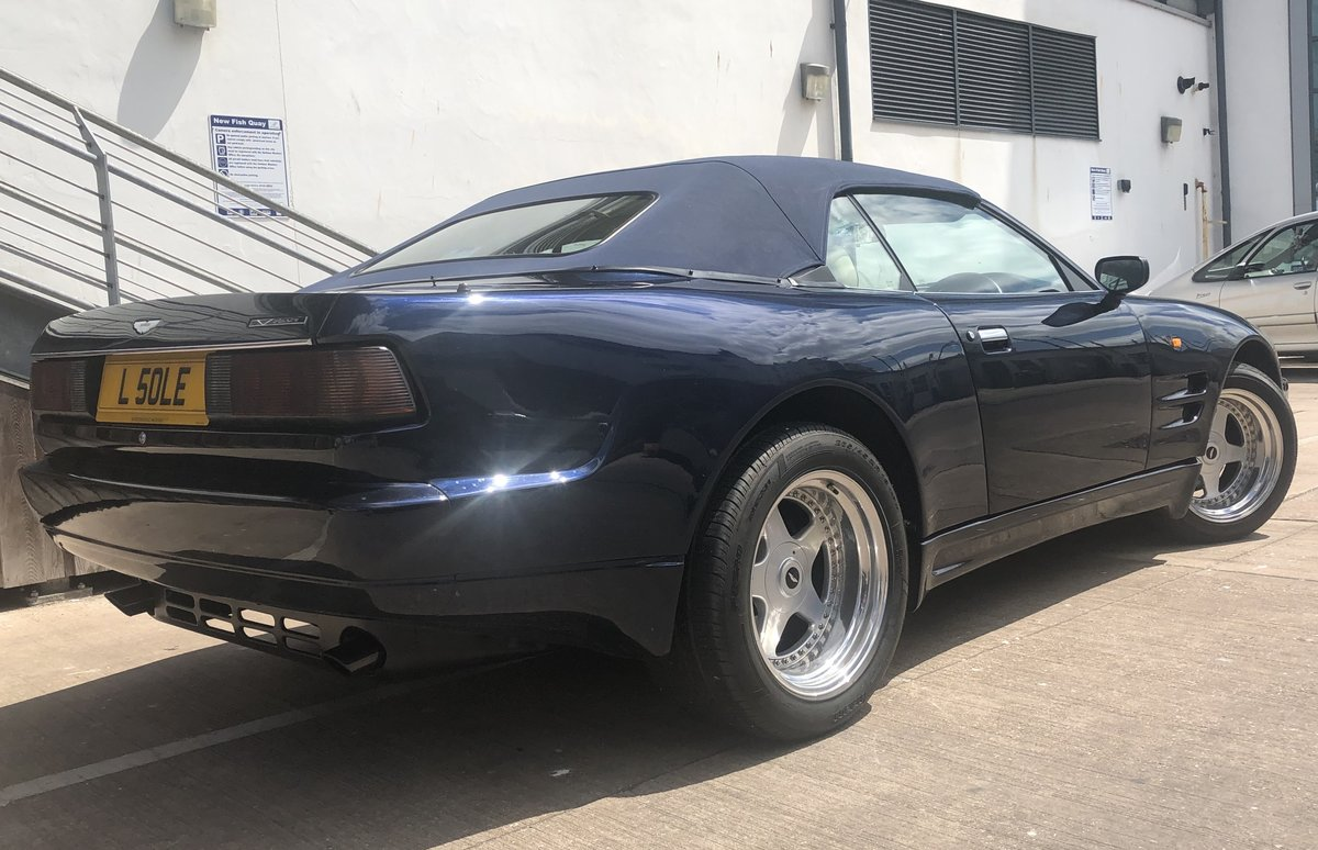 1995 ASTON MARTIN WIDE BODIED VIRAGE 5.3 V8 VOLANTE For Sale (picture 6 of 6)
