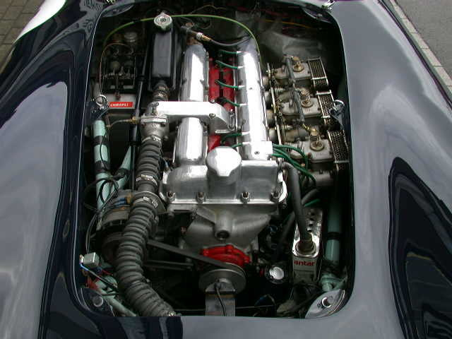 1956 Aston Martin DB 3S Specification For Sale (picture 6 of 6)