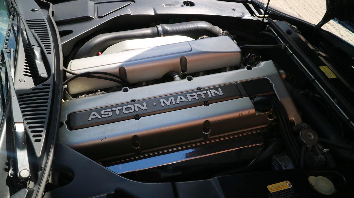 1997 Aston Martin DB7 i6 Volante - finished in Quantock Blue For Sale (picture 3 of 6)