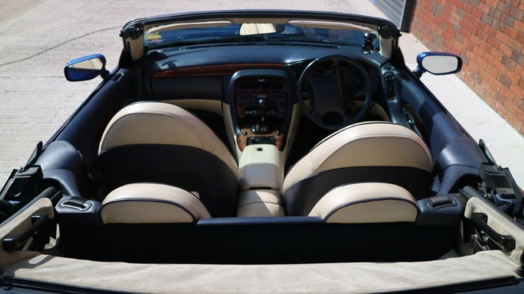 1997 Aston Martin DB7 i6 Volante - finished in Quantock Blue For Sale (picture 6 of 6)