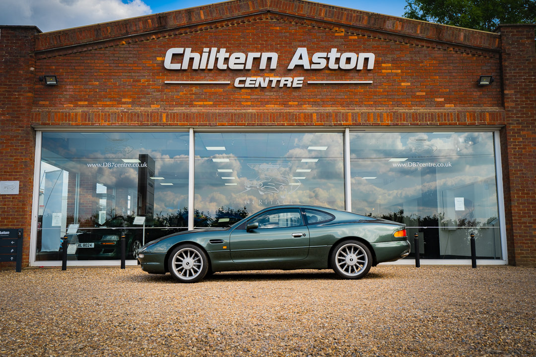 1996 Aston Martin DB7 Coupe (Manual) For Sale (picture 1 of 6)