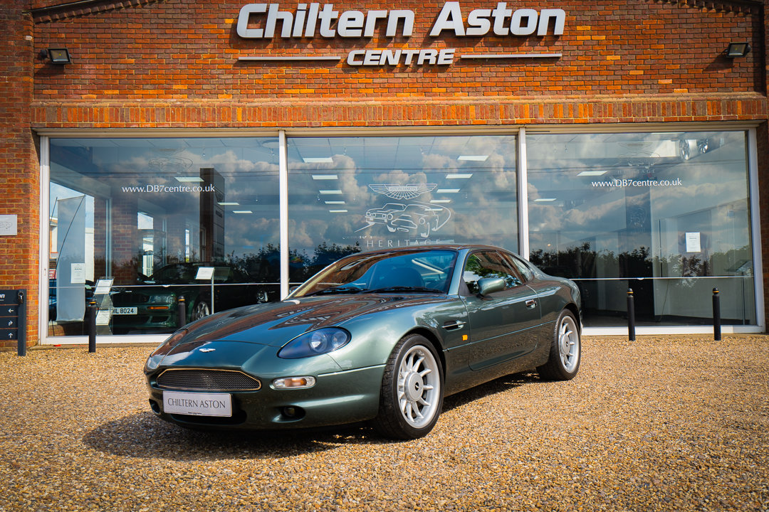 1996 Aston Martin DB7 Coupe (Manual) For Sale (picture 2 of 6)