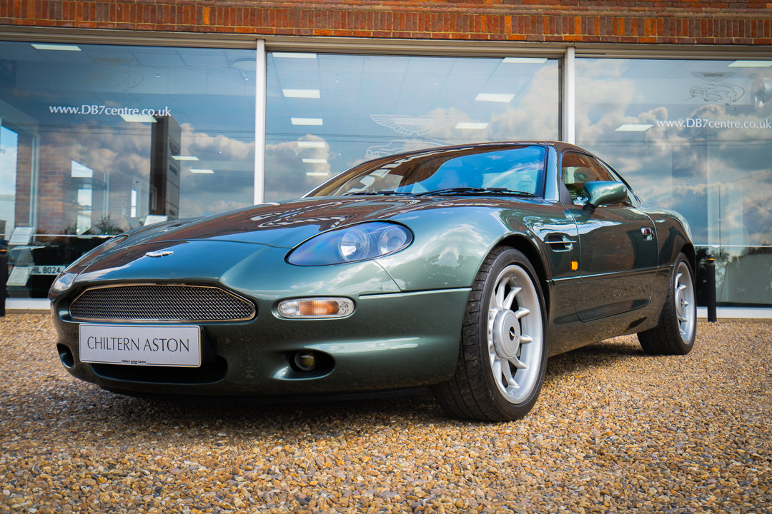 1996 Aston Martin DB7 Coupe (Manual) For Sale (picture 3 of 6)