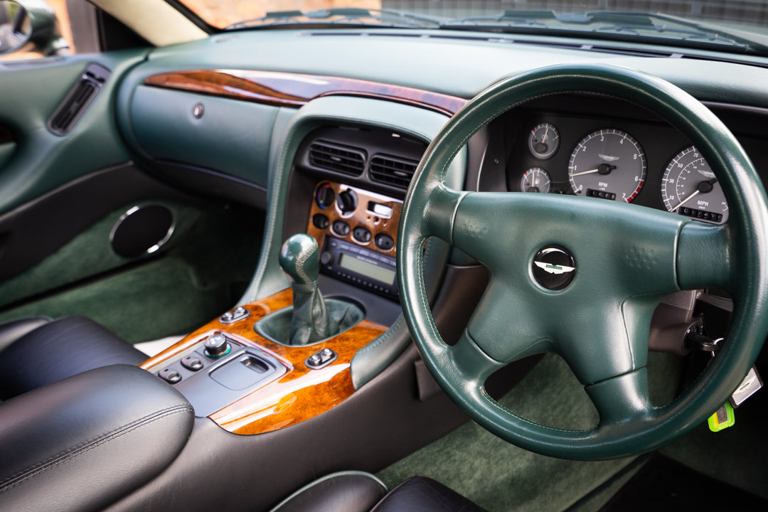1996 Aston Martin DB7 Coupe (Manual) For Sale (picture 5 of 6)