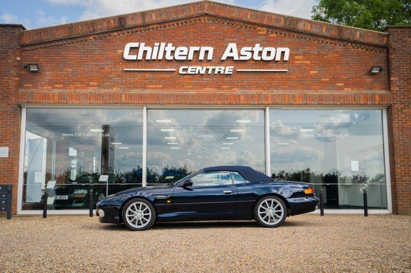 2000 Aston Martin DB7 Vantage Volante (Automatic) For Sale (picture 1 of 6)