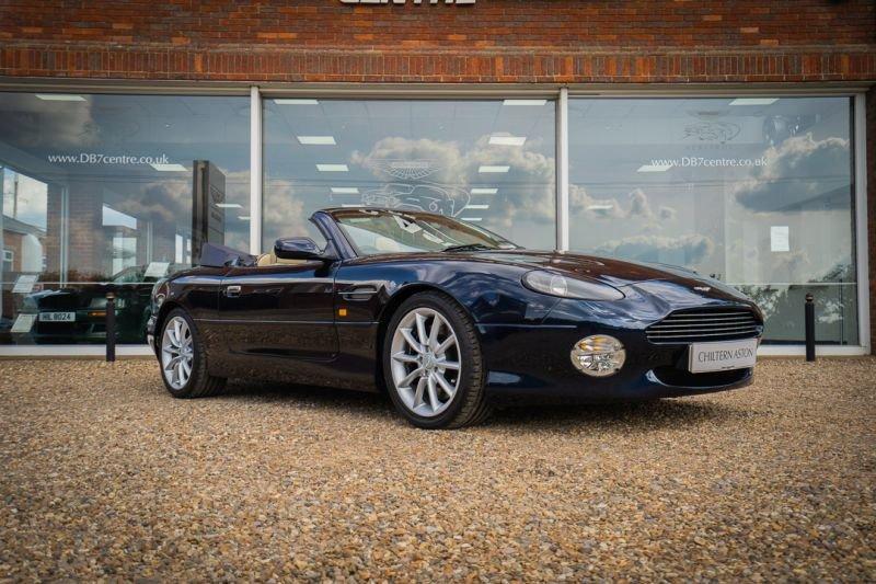 2000 Aston Martin DB7 Vantage Volante (Automatic) For Sale (picture 2 of 6)
