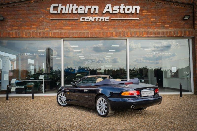 2000 Aston Martin DB7 Vantage Volante (Automatic) For Sale (picture 3 of 6)