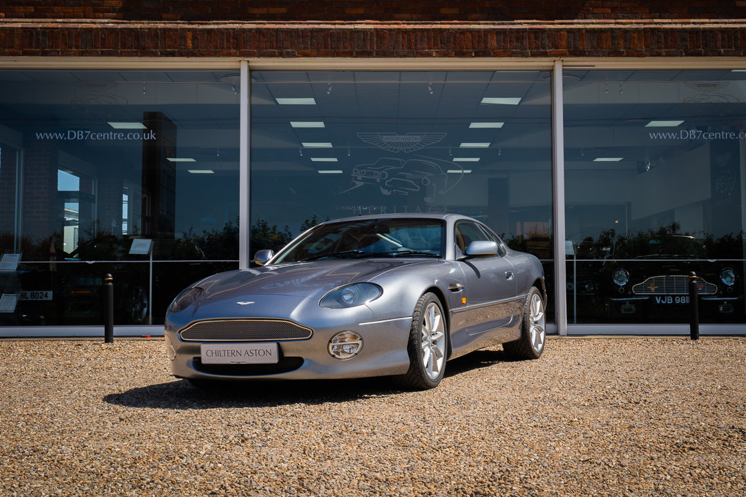 2002 Aston Martin DB7 Vantage Coupe (Automatic) For Sale (picture 2 of 6)