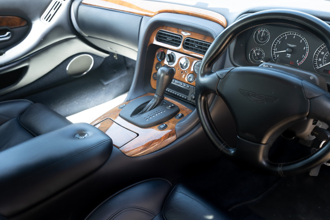2002 Aston Martin DB7 Vantage Coupe (Automatic) For Sale (picture 5 of 6)