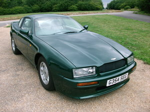 Aston Martin Virage V8 coupe , rare manual gearbox