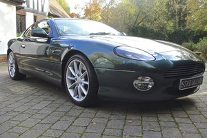 2000 Aston Martin DB7 Vantage V12 Manual