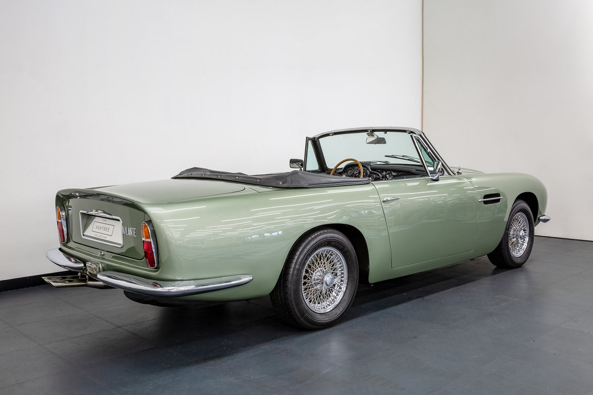 1968 ASTON MARTIN DB6 VOLANTE 1 of 140 CARS BUILT. For Sale (picture 3 of 6)